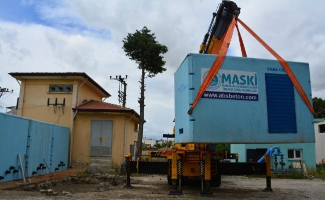 Muradiye Mahallesine 100 tonluk içme suyu deposu yapıldı