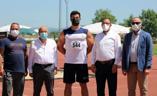 Osmangazili atlet rekor geliştirdi