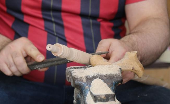(Özel) Osmanlı'dan günümüze ulaşan nadir el sanatı, fabrikasyona direniyor