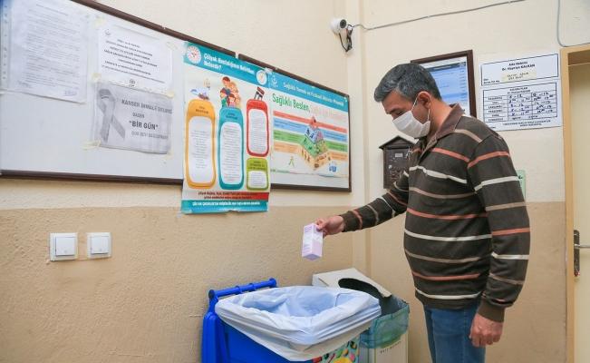 Pamukkale'de atık ilaçlar ayrı toplanıyor