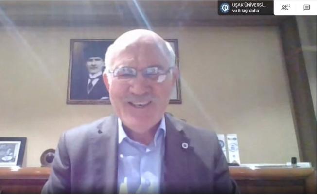 Rektör Savaş, Uşak Üniversitesi'nin gelişimini anlattı