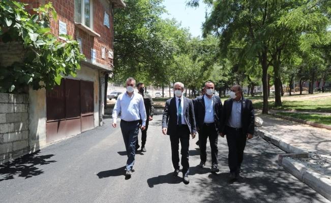 Şahinbey'de asfalt çalışmaları hız kesmeden devam ediyor