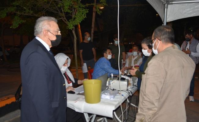 Siverek'te sivil toplum kuruluşlarının desteğiyle kan bağışı kampanyası