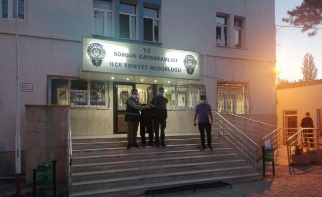 Sorgun'da İnşaatlardan demir çalan 3 kişi yakalandı