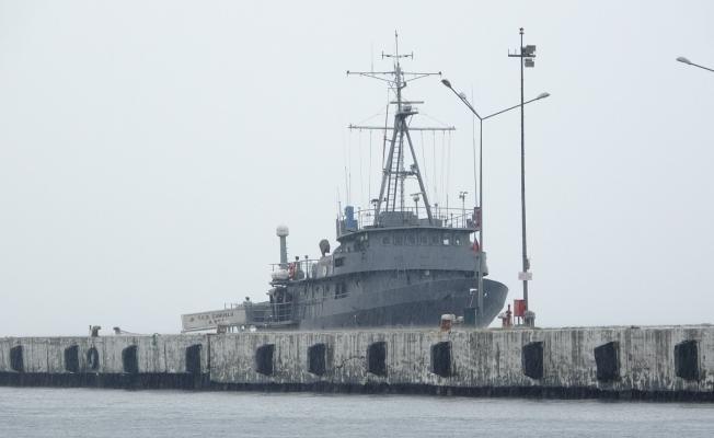 TCG Çubuklu araştırma gemisi Sinop'ta