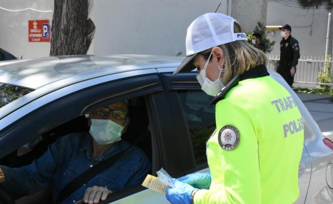 Trafik Haftası'nda sürücüler bilgilendirildi