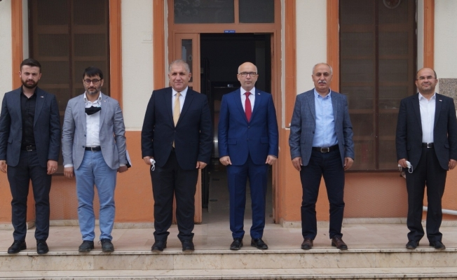 Türk Kızılay Bursa Şube'den Yenişehir'e temsilcilik sözü