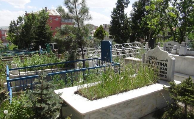 Van'da mezarlıklar boş kaldı