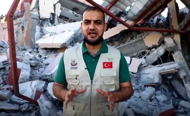 Yedi Başak'tan Filistin'e yardım çağrısı