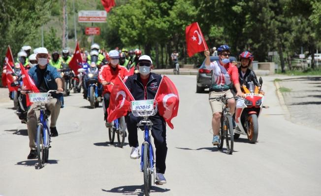 Yozgat'ta pedallar 19 Mayıs için döndü