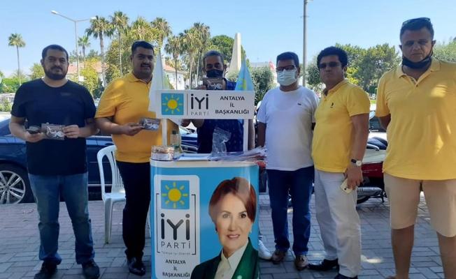 Alanya İYİ Parti'de üye çalışmaları sürüyor