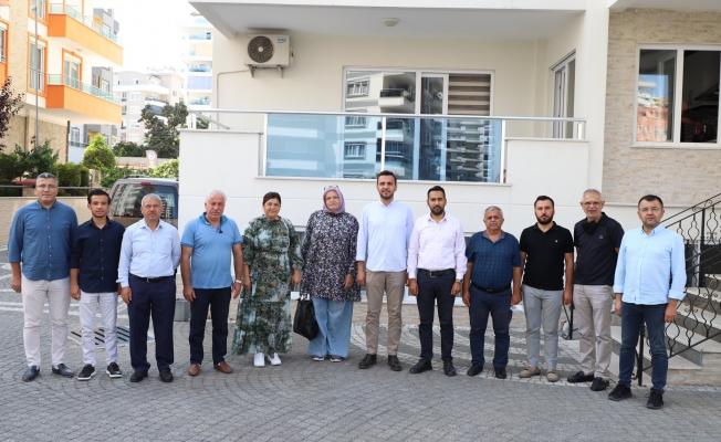 Başkan Toklu'dan Mahmutlar esnafına ziyaret