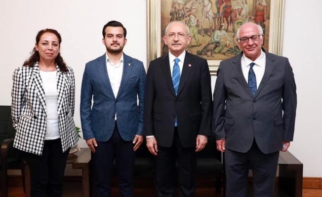 Meclis üyesi Zavlak Kılıçdaroğlu ile buluştu