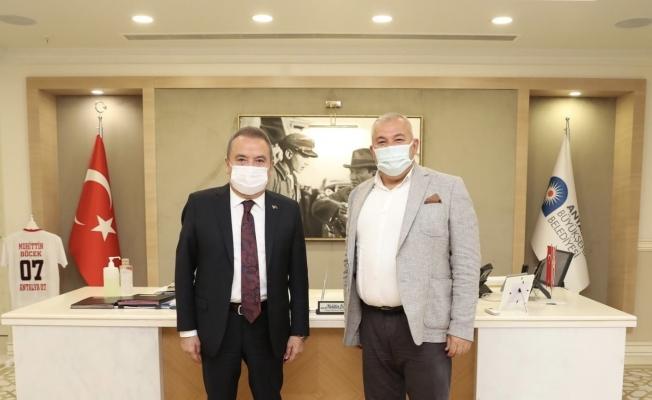 Şahin'den Başkan Böcek'e ziyaret