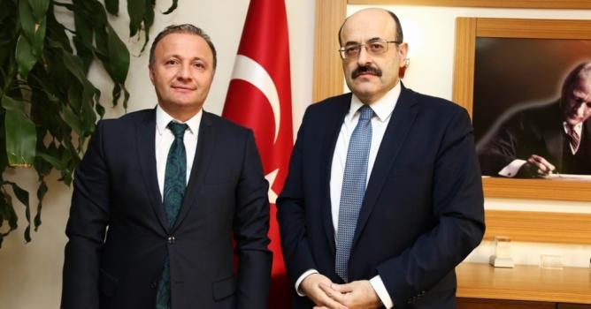 Akdeniz Üniversitesi YÖK Başkanını ağırladı