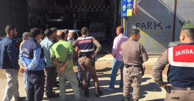 Alanya'da silahlı saldırı