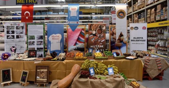 Alanya'nın yöresel ürünleri tanıtıldı