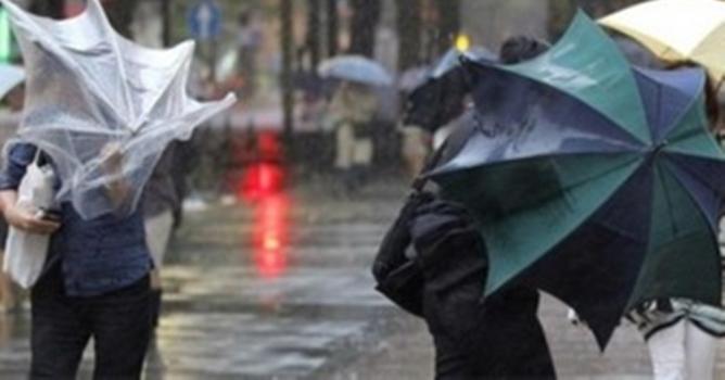 Alanya'ya fırtına  ve yağış uyarısı