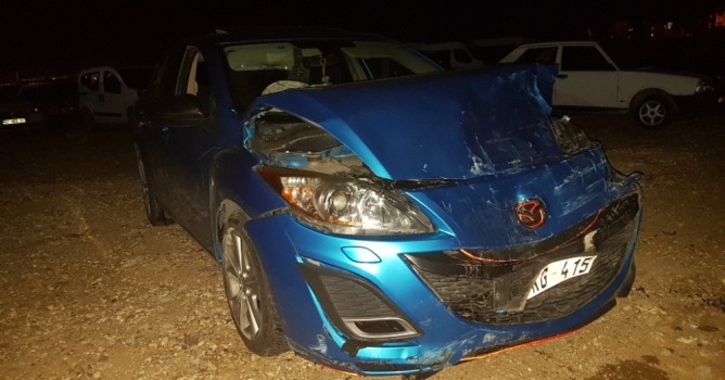 Alanya yolunda  kaza: 1 yaralı