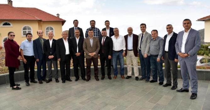 ALSMO, Yücel ve meclis üyelerini ağırladı
