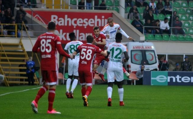 Alanyaspor: 1 -  Sivasspor: 1