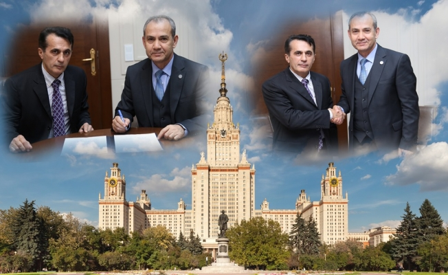 ALKÜ'den Rusya'nın en iyi  üniversitesi ile protokol