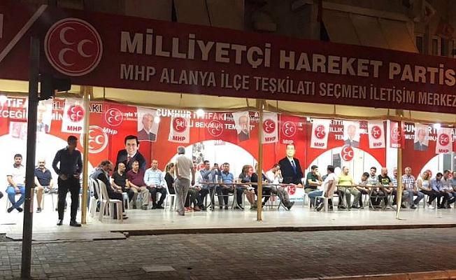MHP'de seçim ofisi  faaliyete girdi