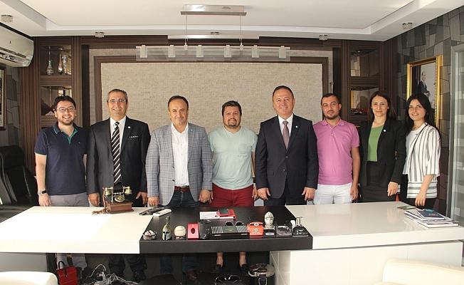 İYİ Parti'den Zamanoğlu'na ziyaret