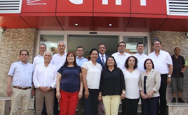 CHP'de adayların  ilk buluşması
