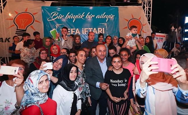 Alanya AK Parti İftarına Akın Etti