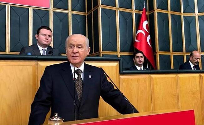 Yücel ve Türkdoğan, Bahçeli'yi dinledi