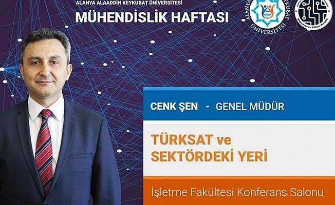 TÜRKSAT GENEL MÜDÜRÜ ALKÜ'YE GELİYOR