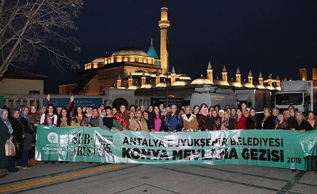 Büyükşehir Belediyesi Konya gezisi düzenledi