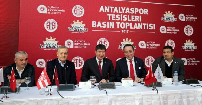 Antalyaspor'a tesisleri teslim edildi