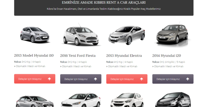 Araç Kiralamanın Yükselen Yıldızı: Kıbrıs Rent a Car