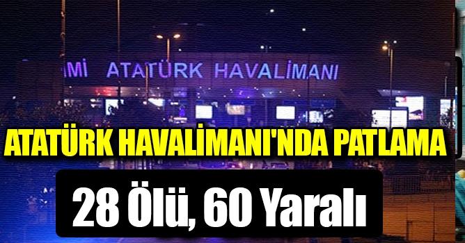 Atatürk Havalimanı'nda 3 Canlı Bomba Saldırı Düzenledi: 28 Ölü, 60 Yaralı