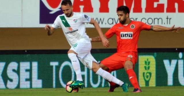 Aytemiz Alanyaspor-Bursaspor: 0-2