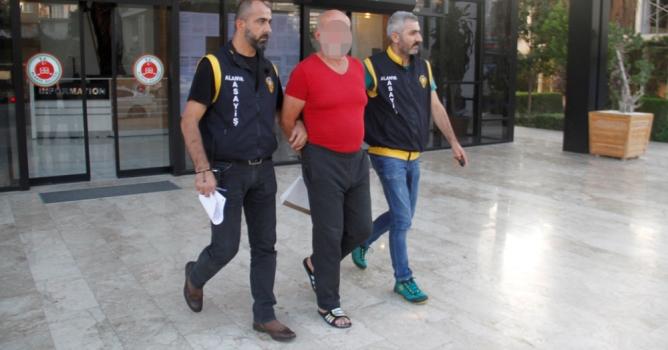 Azılı Alman hırsız tutuklandı