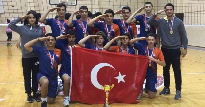 Bahçeşehir'den bir  şampiyonluk daha