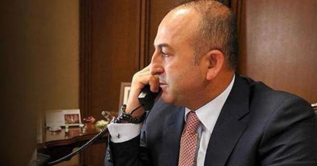 Bakan Çavuşoğlu, mevkidaşı Tillerson ile telefonda görüştü!