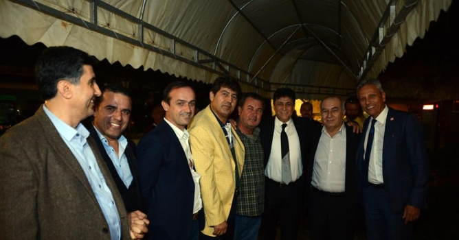 Başkan adayları Alanya'da