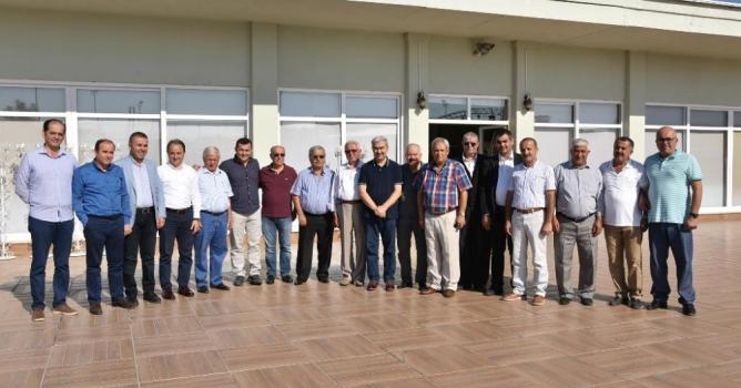 Başkanları 'Ertekin' buluşturdu