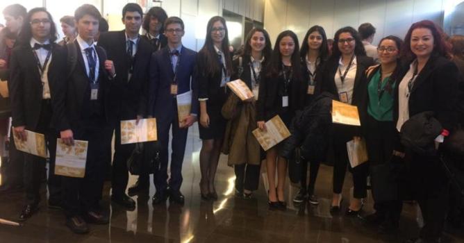 BCNMUN Konferansına katıldılar