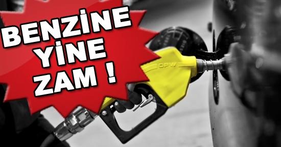 Benzine 9 Kuruş Zam Geldi