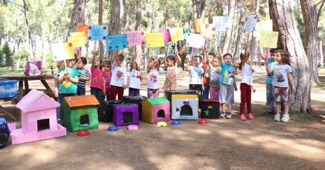 Büyükşehir'den çocuklara anlamlı etkinlik