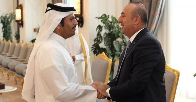 Çavuşoğlu Katar'da