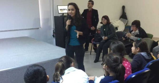 Çetin'den 'sağlıklı beslenme' semineri