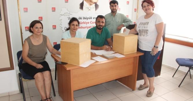 CHP'de seçimler  devam ediyor