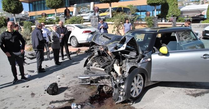 Cikcilli'de kaza : 1 yaralı