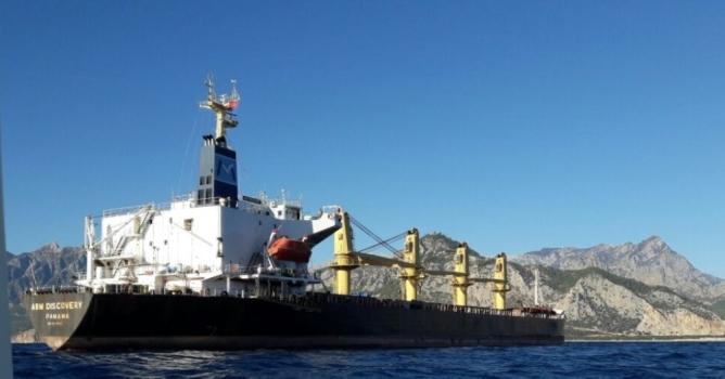 Denizi kirleten gemiye 106 bin lira ceza kesildi